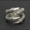 """Серебряное кольцо 925 пробы """"Когти дракона"""""""
