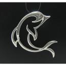 """Серебряная подвеска 925 пробы """"Дельфин"""""""