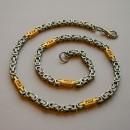 Цепь на шею, византийское плетение
