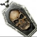 "3D-Медальон на цепочке из коллекции ""Dark side"""