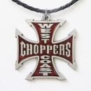 """Подвеска """"West Coast Choppers"""", красная эмаль"""