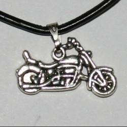 """Подвеска на каучуковом шнурке """"Мотоцикл"""""""