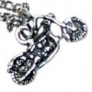 Серебряная подвеска 925 пробы на цепочке