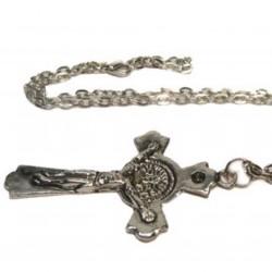 Подвеска с цепочкой православный крест