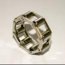 Стальное кольцо-цепь