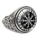 Перстень с рунами