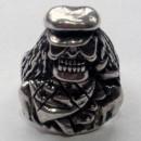 Массивный серебряный байкерский перстень