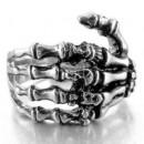 "Байкерский перстень ""Skull hand"""