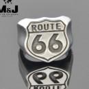 """Стальной перстень """"Route 66"""""""