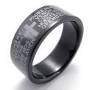 """Кольцо с молитвой """"Отче Наш"""""""