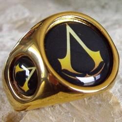 """Позолоченный перстень """"Ассассин (наемный убийца)"""""""