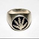 Массивный серебряный перстень