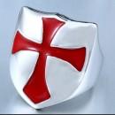 """Рыцарский перстень """"Крест на щите"""""""