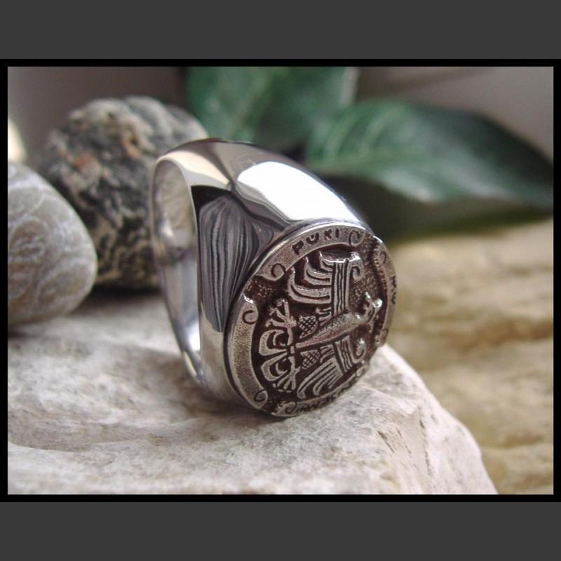 Перстень с орлом раппен