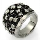 Перстень с черепами